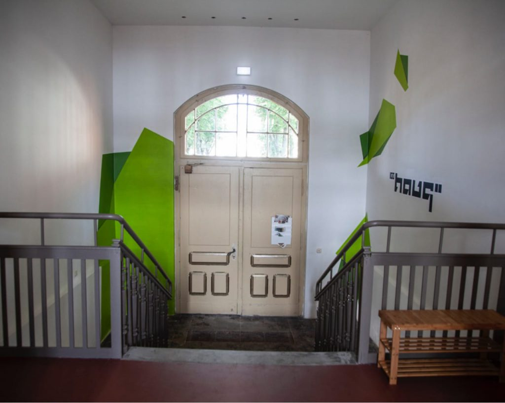 Eingangsbereich des 100Hauses