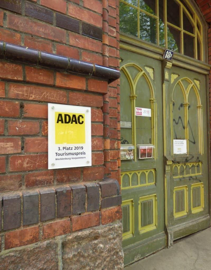 3. Platz ADAC-Tourismuspreis Mecklenburg Vorpommern