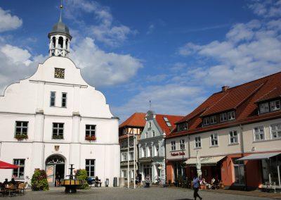 Historische Altstadt mit Rathaus