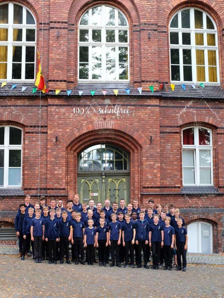 Wiesbadener Knabenchor zu Gast im 100Haus